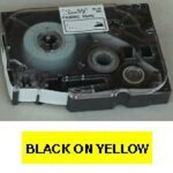 Brother TZe tape 6mmx8m black/yellow