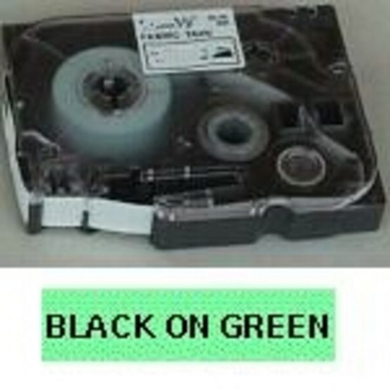Brother TZe tape 9mmx8m black/green