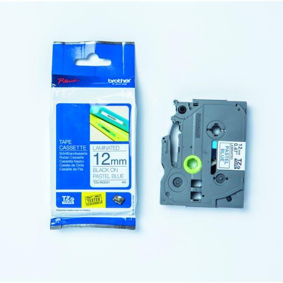 Brother TZeM tape 12mm x 4m pastel blue