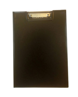 Clipboard with wrap black