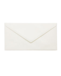 Envelope E65 white 5/pack
