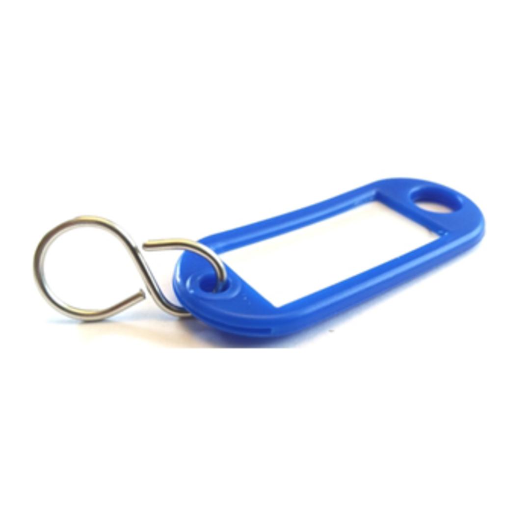 Key tag blue