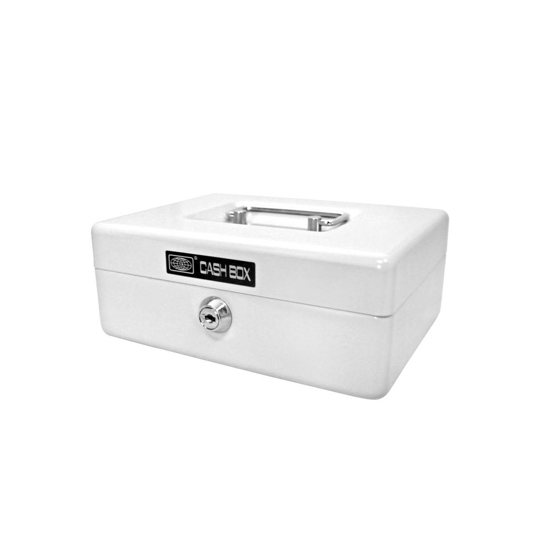 Cash box 702 20x15x8cm white