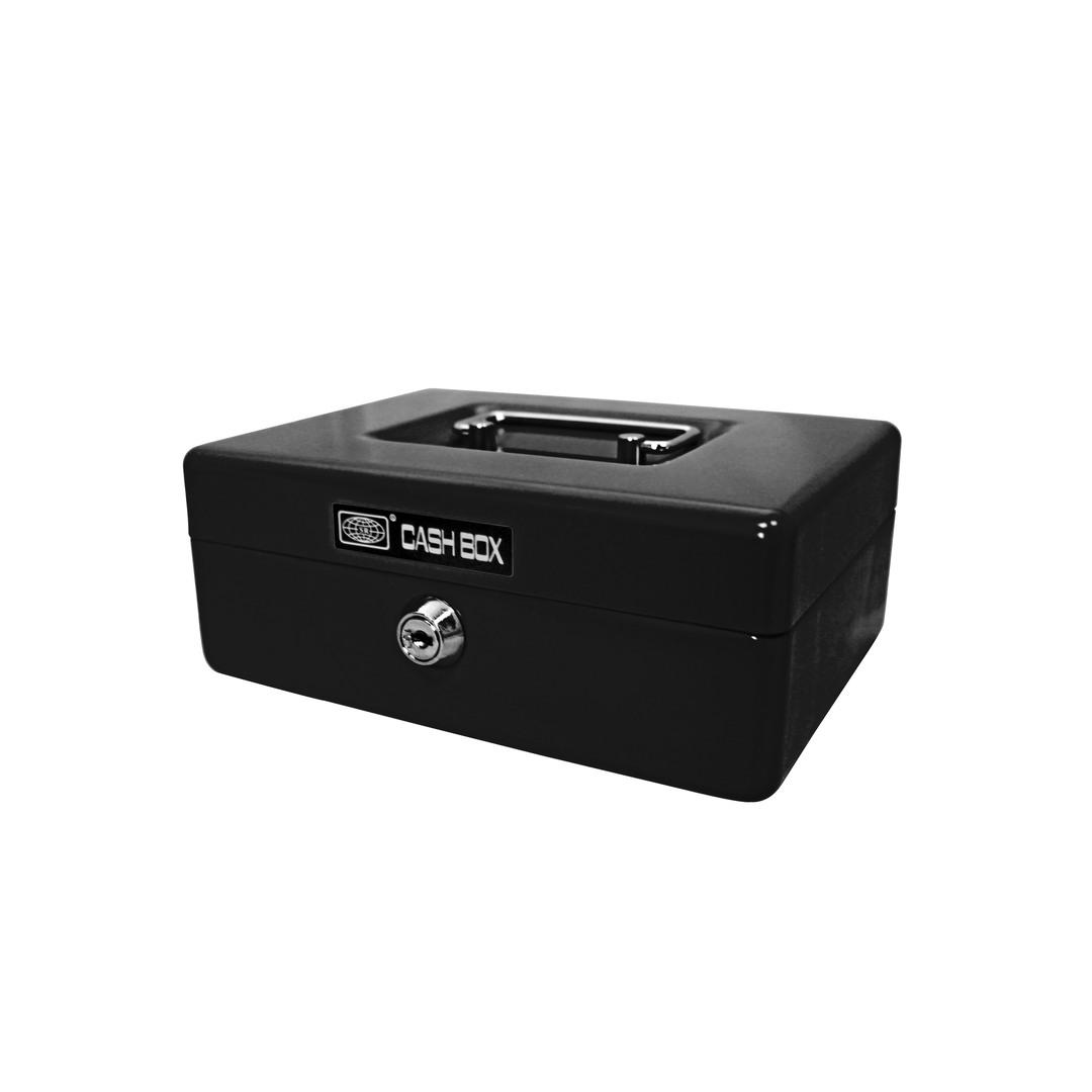 Cash box 702 20x15x8cm black