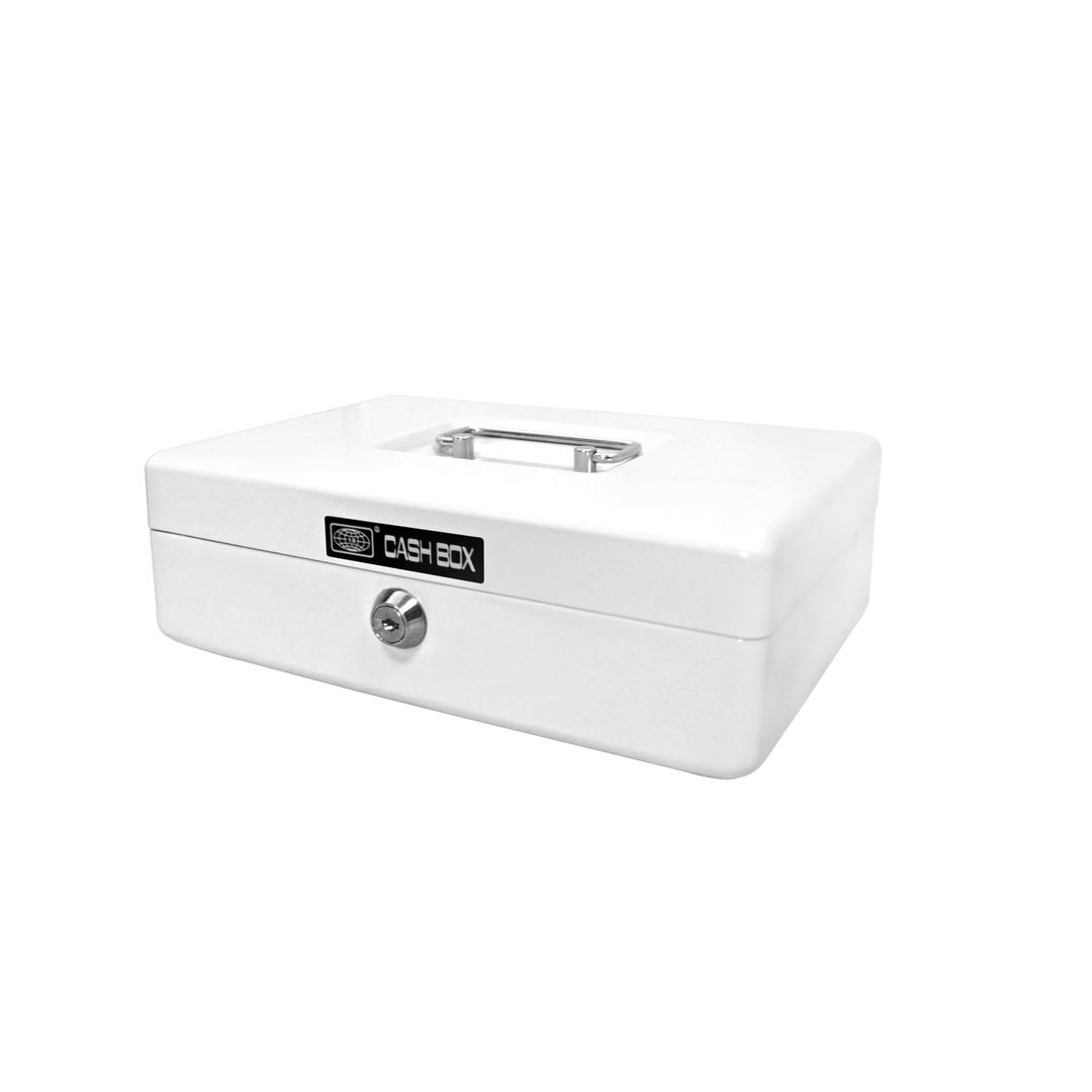 Cash box 703 25x18x8cm white