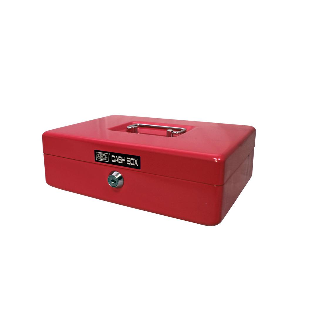 Cash box 703 25x18x8cm red