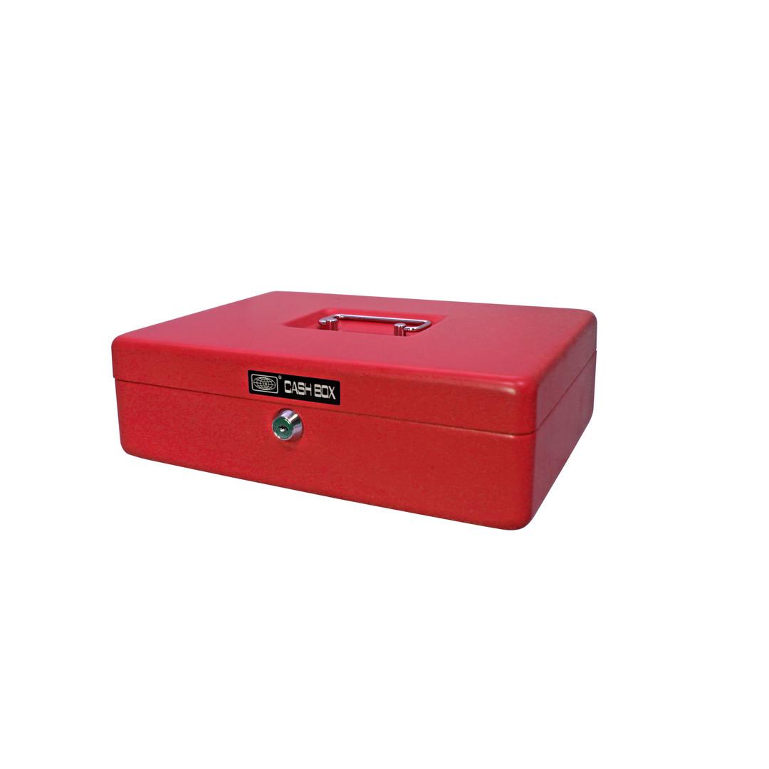 Cash box 704 30x23x9cm red