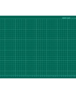 Cutting mat 45x30cm green