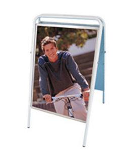 Sidewalk sign EasySign 50x70 white