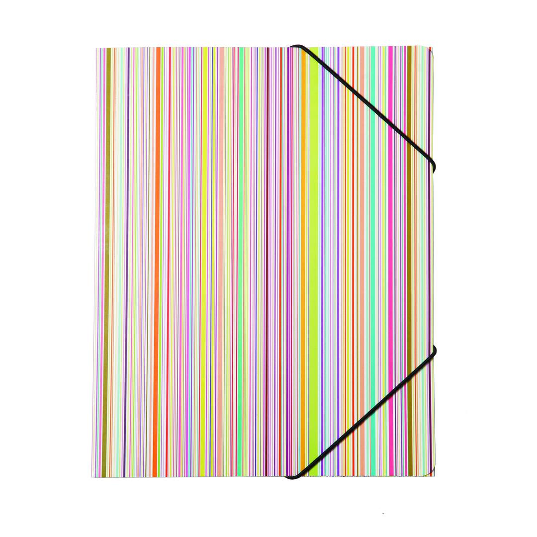 3-flap folder 400gr carton Rainbow