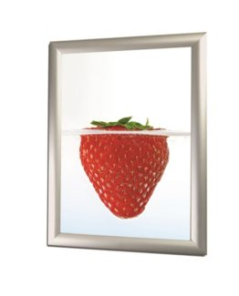 Snap Frame 70x100 25 mm silver