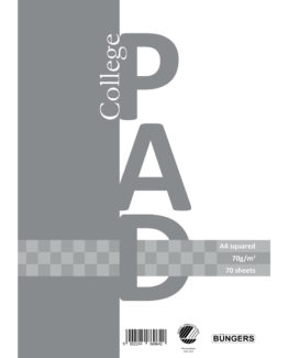 college pad A4 70g/70 sheets squared (3)