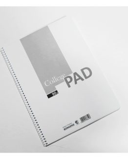 College pad A4 70sh 90g plain