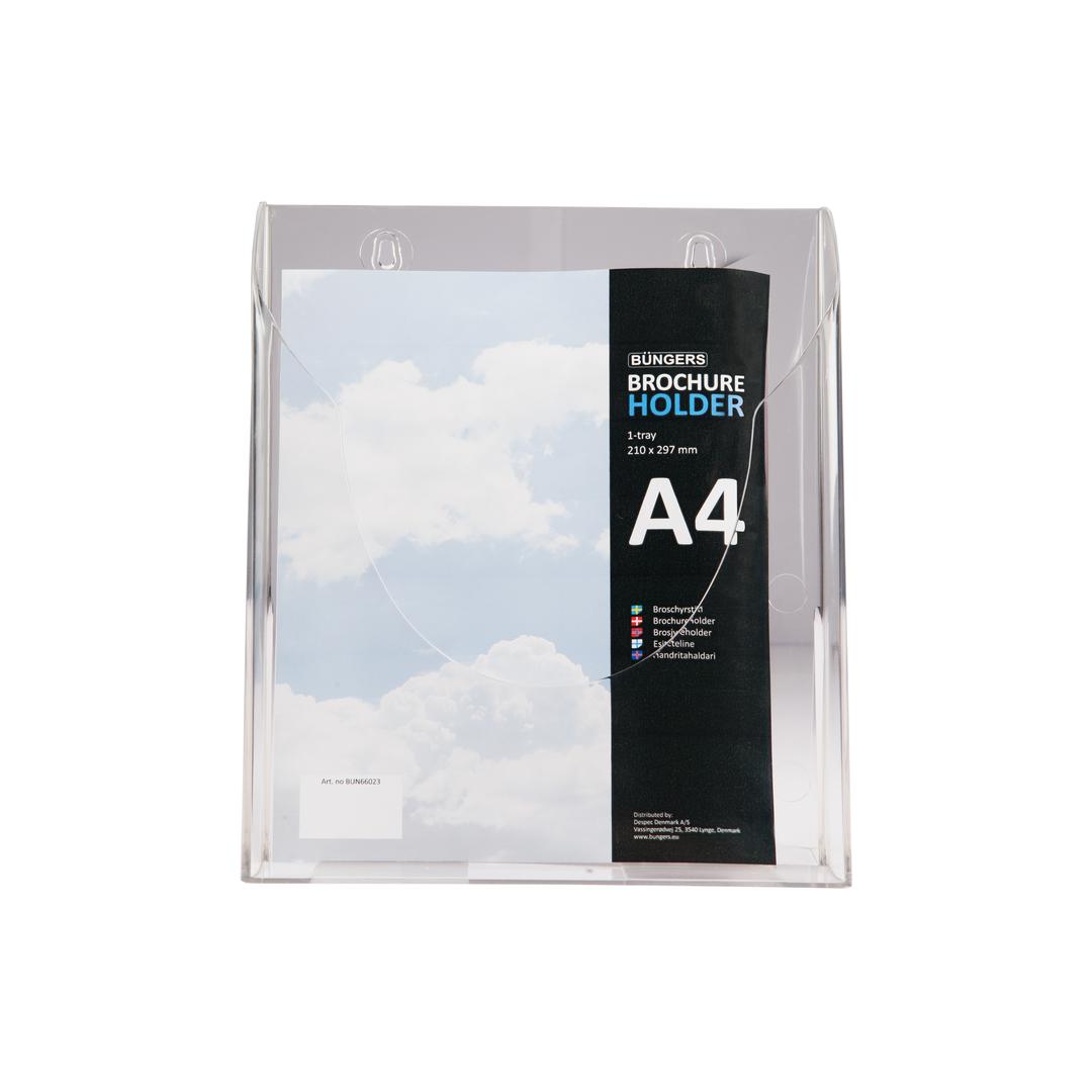 Brochure holder A4