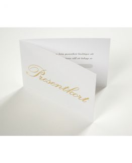 Gift cards ''gold text'' 100+100