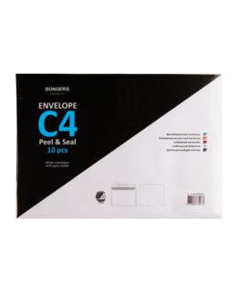 Consumer pack Envelope C4 P&S white 10/box