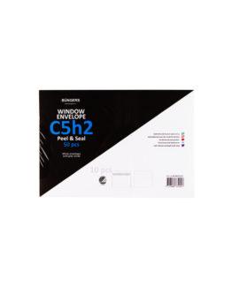 Consumer pack Envelope C5H2 P&S white 50/box