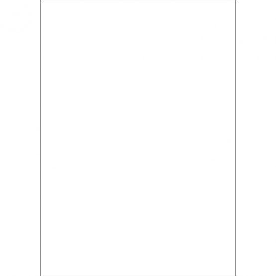 Cardboard 70x100 1000g natural white