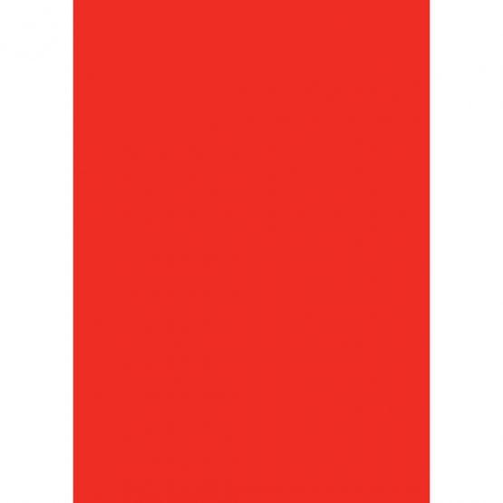 Cardboard 50x70 300g red