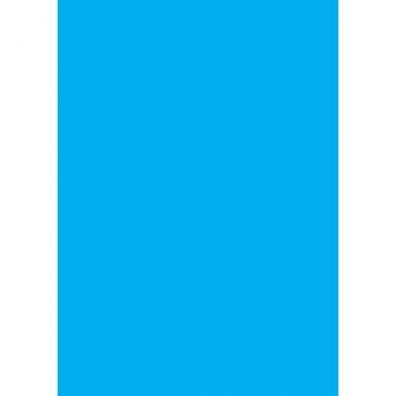 Cardboard 50x70 300g clear blue