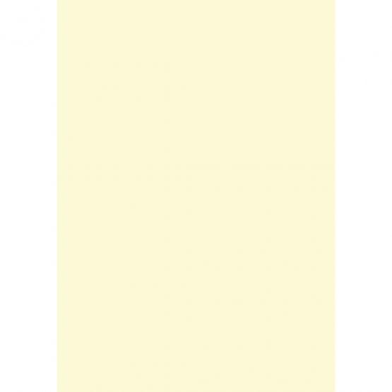 Cardboard 50x70 300g light yellow