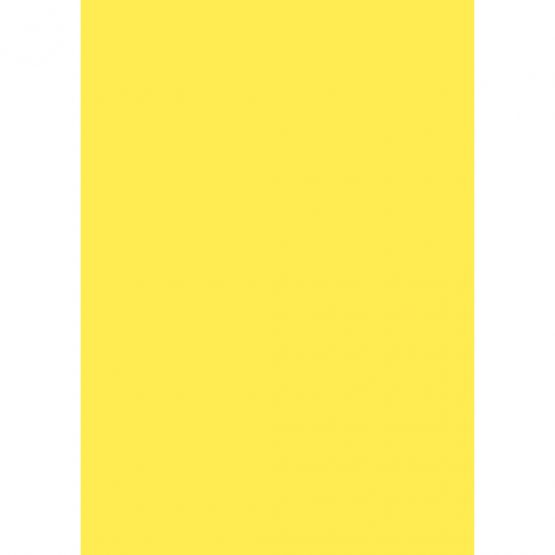 Card 50x70 270g 10/p yellow