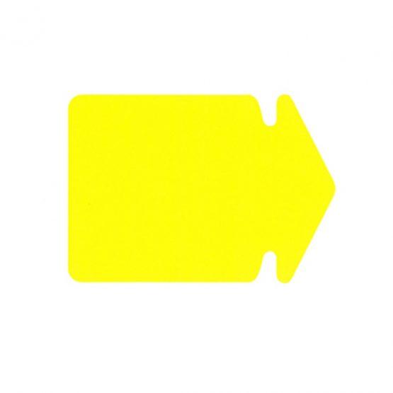 Arrow big 24x17 270g 20/pack fluorescent yellow
