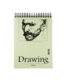 Drawing pad A4 135g 40 sheets