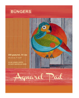 Aquarel pad 18x24cm 200g 15 sheets