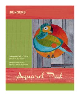 Aquarel pad 24x30cm 200g 15 sheets
