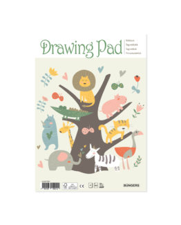Drawing pad ''kids'' A4 30 sheets white 100/gr