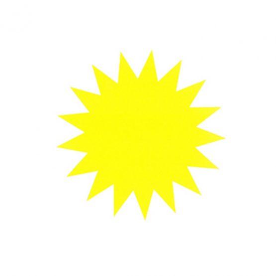 star 16 cm 270g 20/pack fluorescent yellow