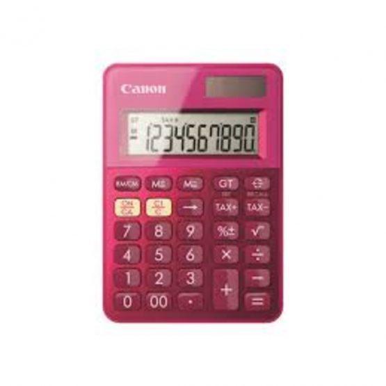 Canon LS-100K-MPK mini pocket calculator pink