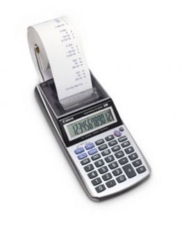 Canon P1-DTSC printing calc. w/adapter