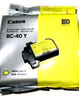 BC-40Y yellow ink cartridge