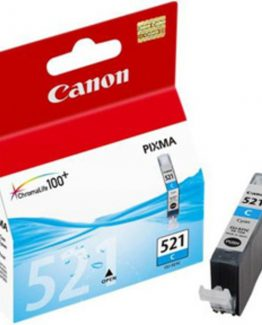 CLI-521C cyan ink cartridge, blistered