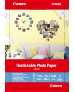 Restickable Photo paper 4x6 5 sheets RP-101