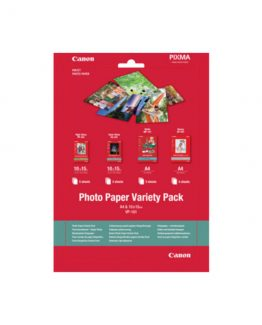 VP-101 Photo Paper Variety Pack A4 & 10 x 15cm
