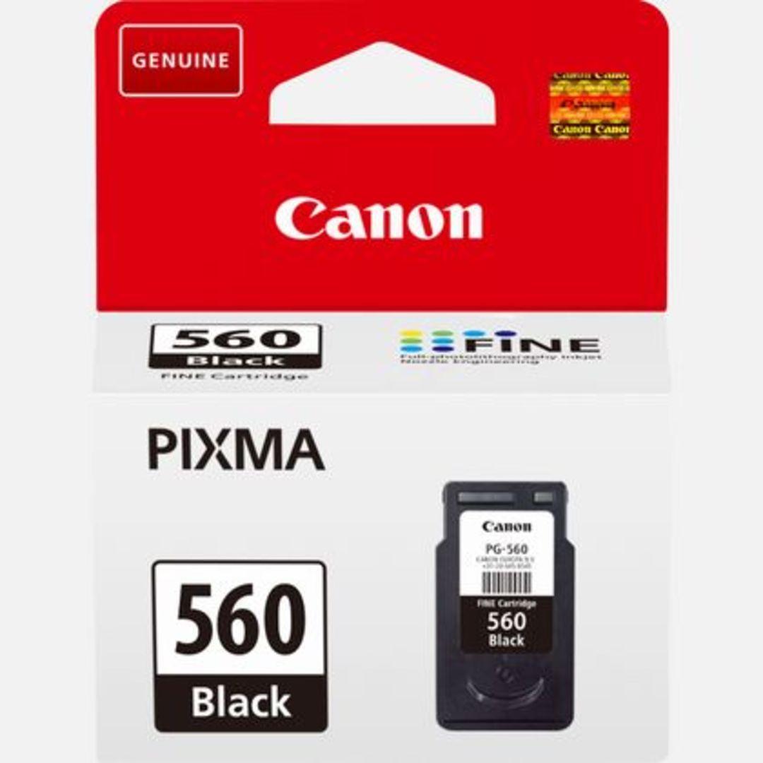 CRG PG-560 Black Ink Cartridge blistered w/alarm