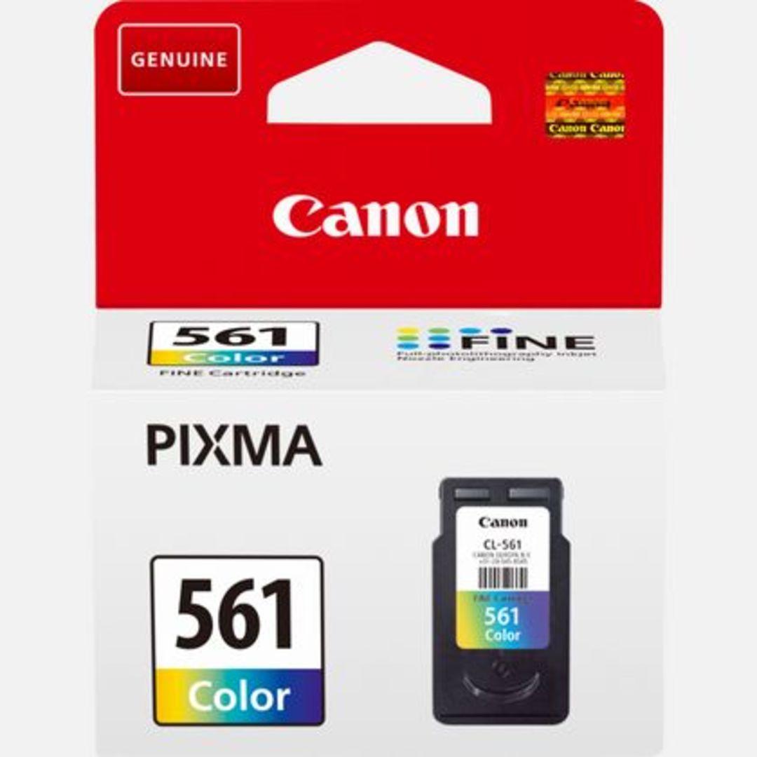 CRG CL-561  Color Ink Cartridge blistered w/alarm