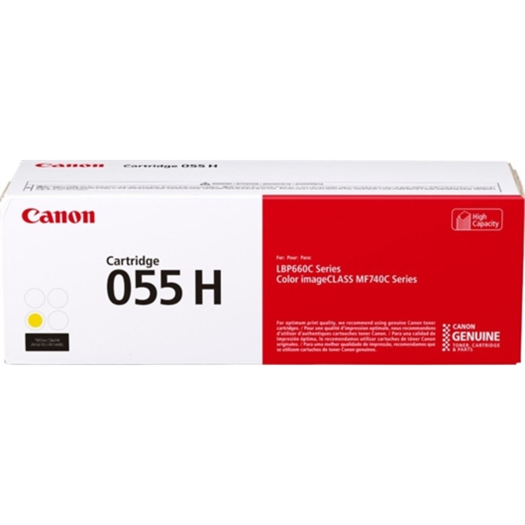 CLBP 055 Yellow Hi cap Toner Cartridge 5.9K