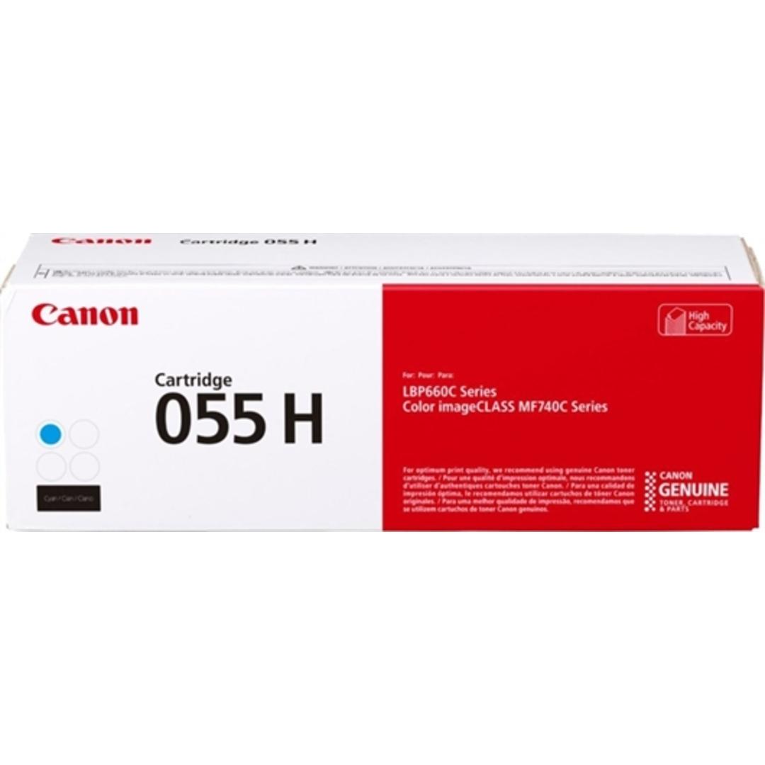 CLBP 055 Cyan Hi cap Toner Cartridge 5.9K