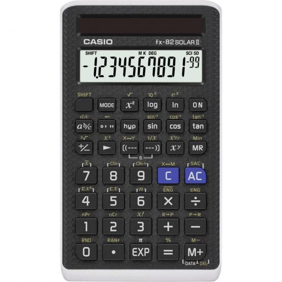 Calculator Casio FX82Solar II