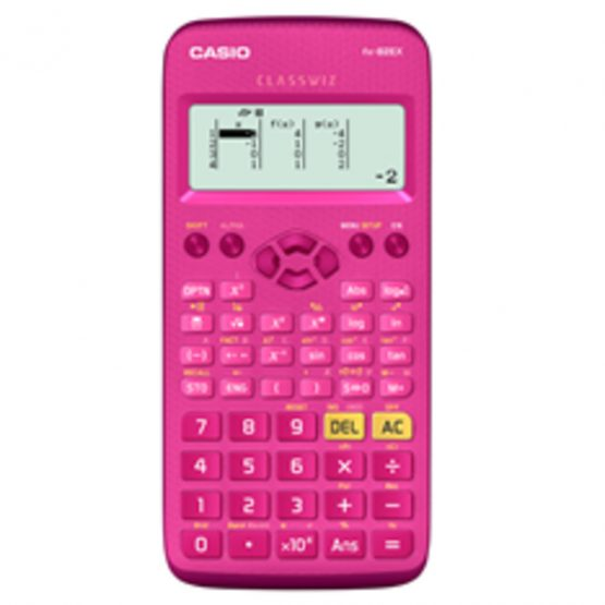 Casio technical calculator FX-82EX Classwiz pink