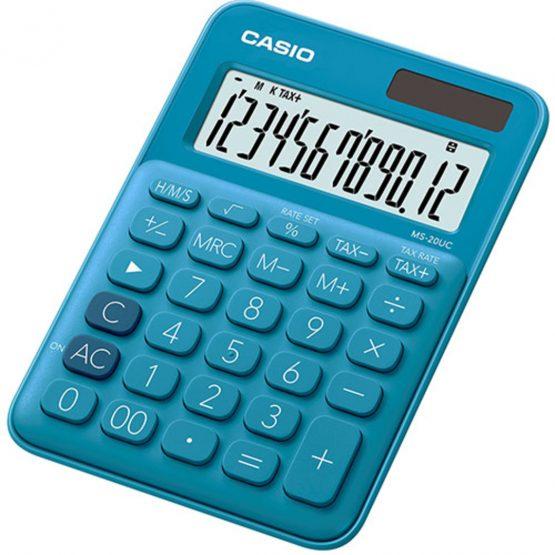 Casio calculator MS-20UC blue