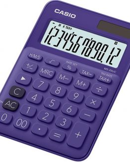 Casio calculator MS-20UC purple
