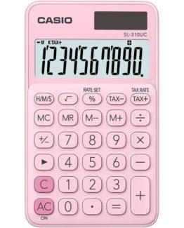 Casio calculator SL-310UC, Pink