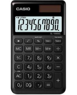 Casio calculator SL-1000SC black