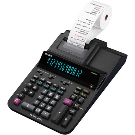 Casio printing calculator DR-420RE