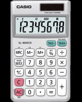 Casio calculator  SL-305ECO, Grey